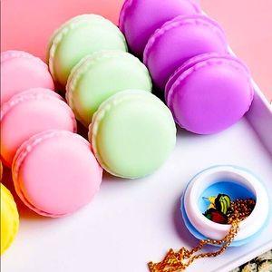 Macaron jewelry storage trinket box NWT